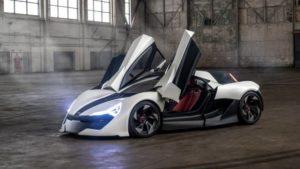 Apex elektrikli otomobil
