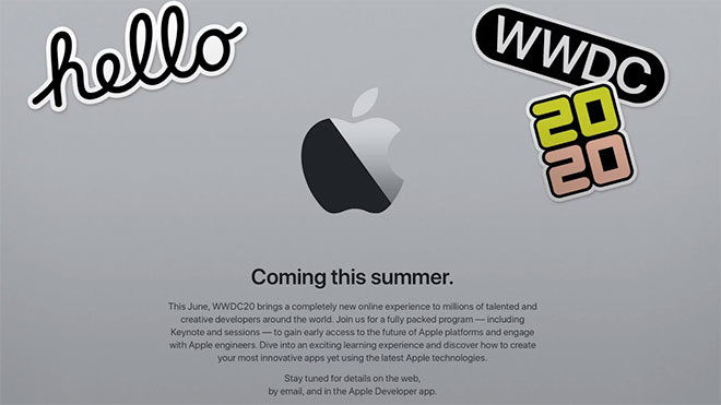 Apple WWDC 2020 koronavirüs