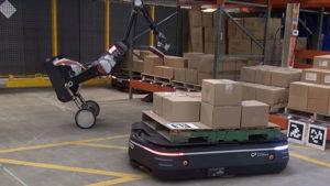 Boston Dynamics robot handle
