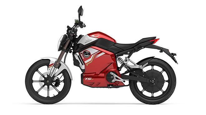 Super Soco TSx elektrikli motosiklet