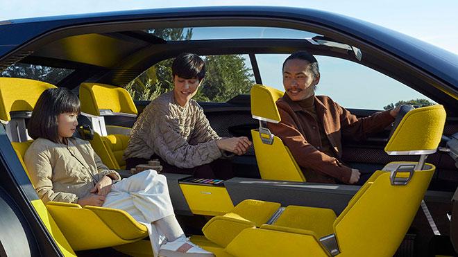 Renault Morphoz EV elektrikli otomobil