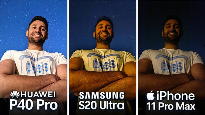 Huawei P40 Pro, Samsung Galaxy S20 Ultra ve Apple iPhone 11 Pro Max