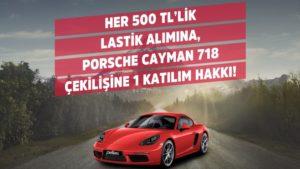 PETLAS Porsche 718 Cayman