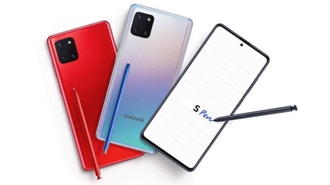 Samsung Galaxy Note 10 Lite ve Samsung Galaxy S10 Lite