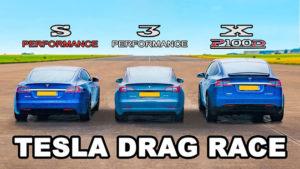 Tesla Model 3, Model S ve Model X
