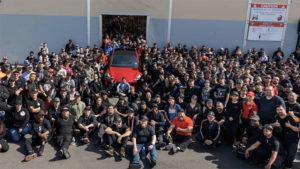 Tesla elektrikli otomobil 1 miyon