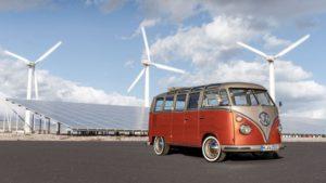 Elektrikli Volkswagen T1