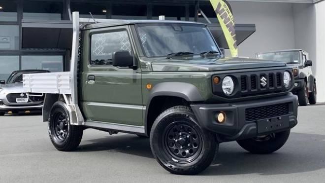 Yeni Suzuki Jimny pickup