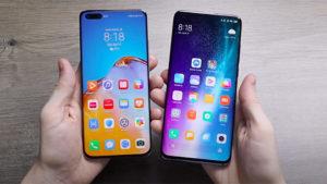 Huawei P40 Pro Xiaomi Mi 10 Pro