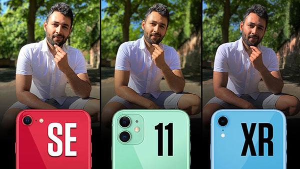 iPhone SE (2. nesil) vs iPhone 11 vs iPhone XR kamera testinde karşı karşıya [Video]