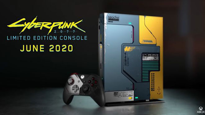 Karşınızda Cyberpunk 2077 temalı Xbox One X versiyonu [Video]