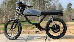 elektrikli motosiklet Huck Cycles