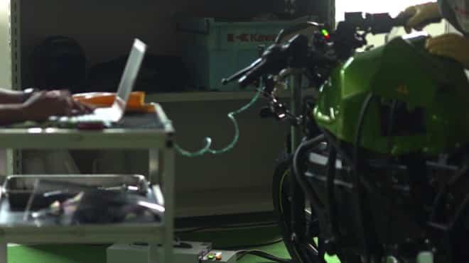 Kawasaki elektrikli motosiklet