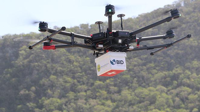 koronavirüs salgın drone