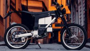 Modern tasarımlı en yeni elektrikli motosiklet: CAKE Kalk INK SL