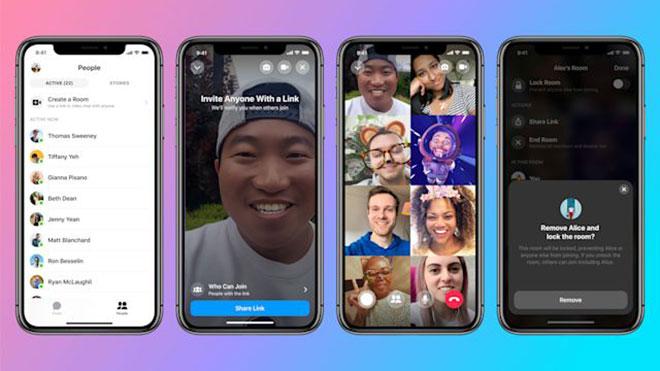 Facebook Messenger Rooms zoom