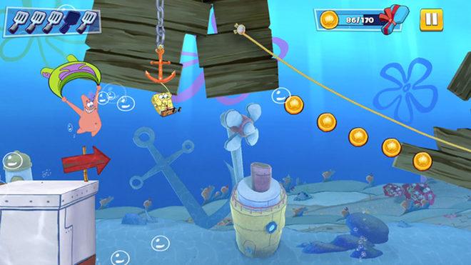 SpongeBob Apple Arcade