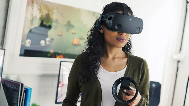 HP Reverb G2 VR başlığı
