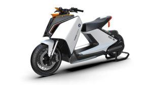 BMW elektrikli motosiklet