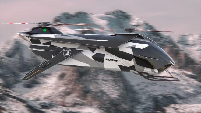 Lamborghini helikopter