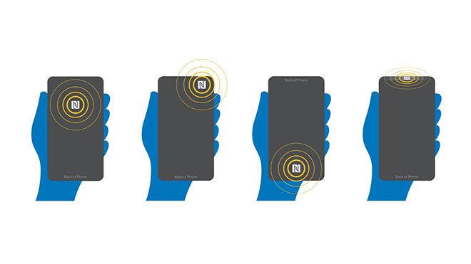 NFC kablosuz şarj