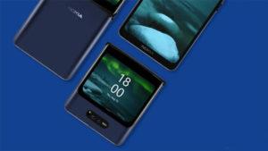 Nokia katlanabilir telefon