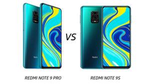 Redmi Note 9 Pro vs Redmi Note 9S karşılaştırması