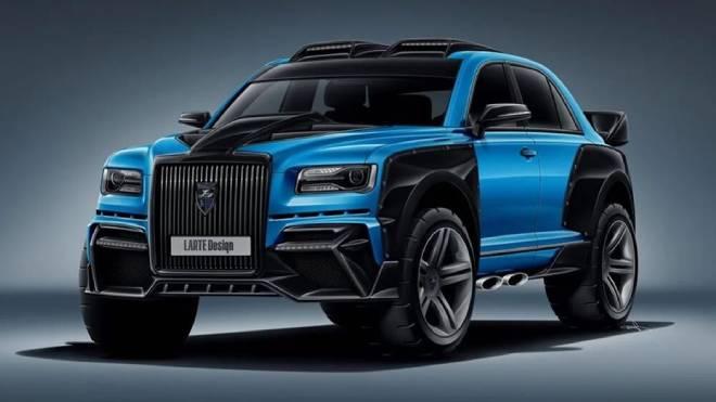 Rus Rolls Royce Phantom
