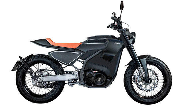 Pursang E-Track elektrikli motosiklet