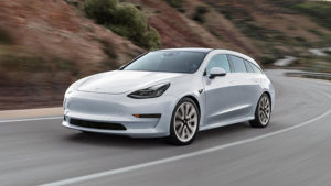 Tesla Model 3 Station Wagon