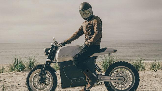 Dikkatleri üzerine toplayan şık elektrikli motosiklet: Tarform Luna