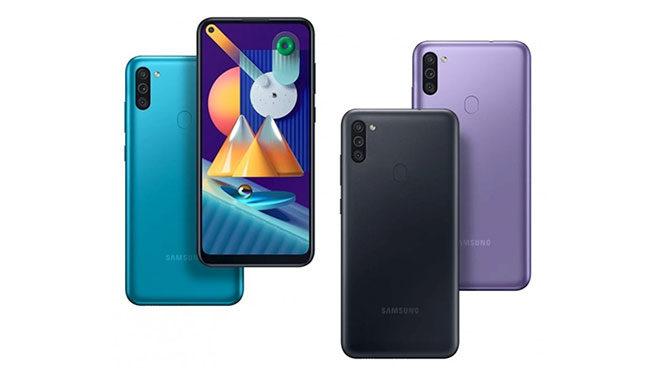 Samsung Galaxy M01 ve Galaxy M11
