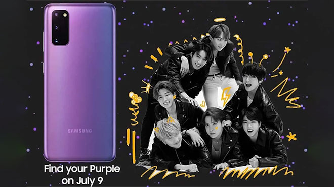 Samsung Galaxy S20 Plus BTS