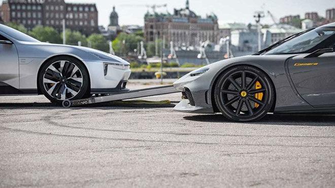 Koenigsegg Polestar Volvo