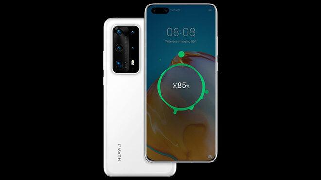 Huawei P40 Pro Plus kablosuz şarj
