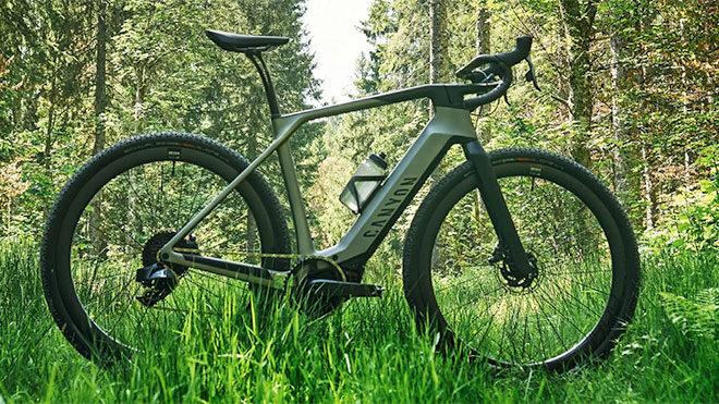 Canyon Grail:ON elektrikli bisiklet