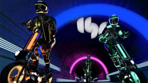 Formula sürücülerinden elektrikli scooter yarış turnuvası: eSkootr [Video]