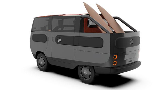 modüler elektrikli araç eBussy