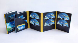 Microsoft Flight Simulator 2020 için 10 DVD'li özel paket