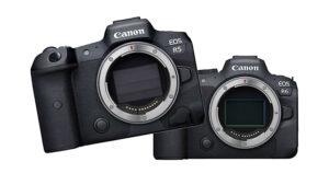 Canon EOS R5 ve Canon EOS R6