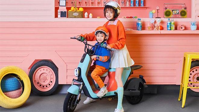 Xiaomi imzalı elektrikli motosiklet