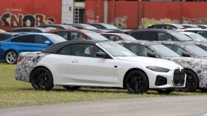 Yeni BMW 4 Serisi Convertible için son düzlük