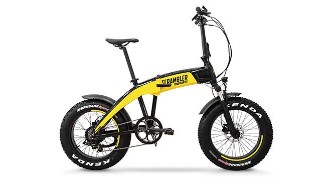 Ducati imzalı üç yeni katlanabilir elektrikli bisiklet