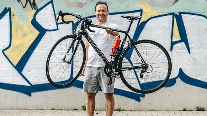 Dünyanın en hafif elektrikli bisiklet modeli ile tanışın [Video]