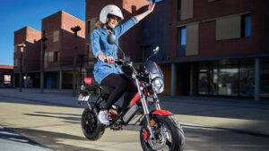 Garelli Ciclone E4 elektrikli motosiklet