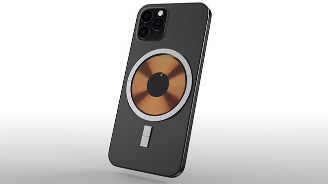 iPhone 12 serisi için kablosuz şarj odaklı ilginç mıknatıs detayı - LOG
