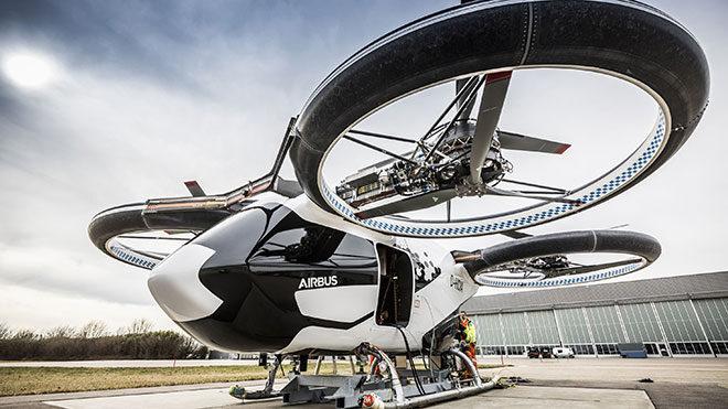 City Airbus uçan taksi