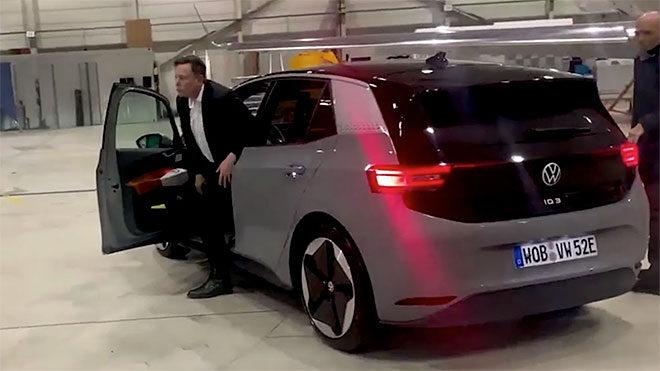 Elon Musk Volkswagen ID.3