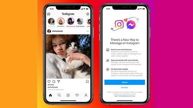 Instagram ve Messenger