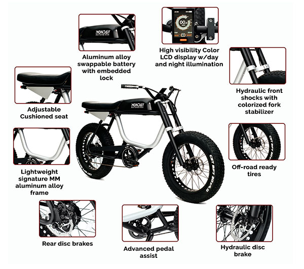 The newest electric bike prepared in the motorcycle line